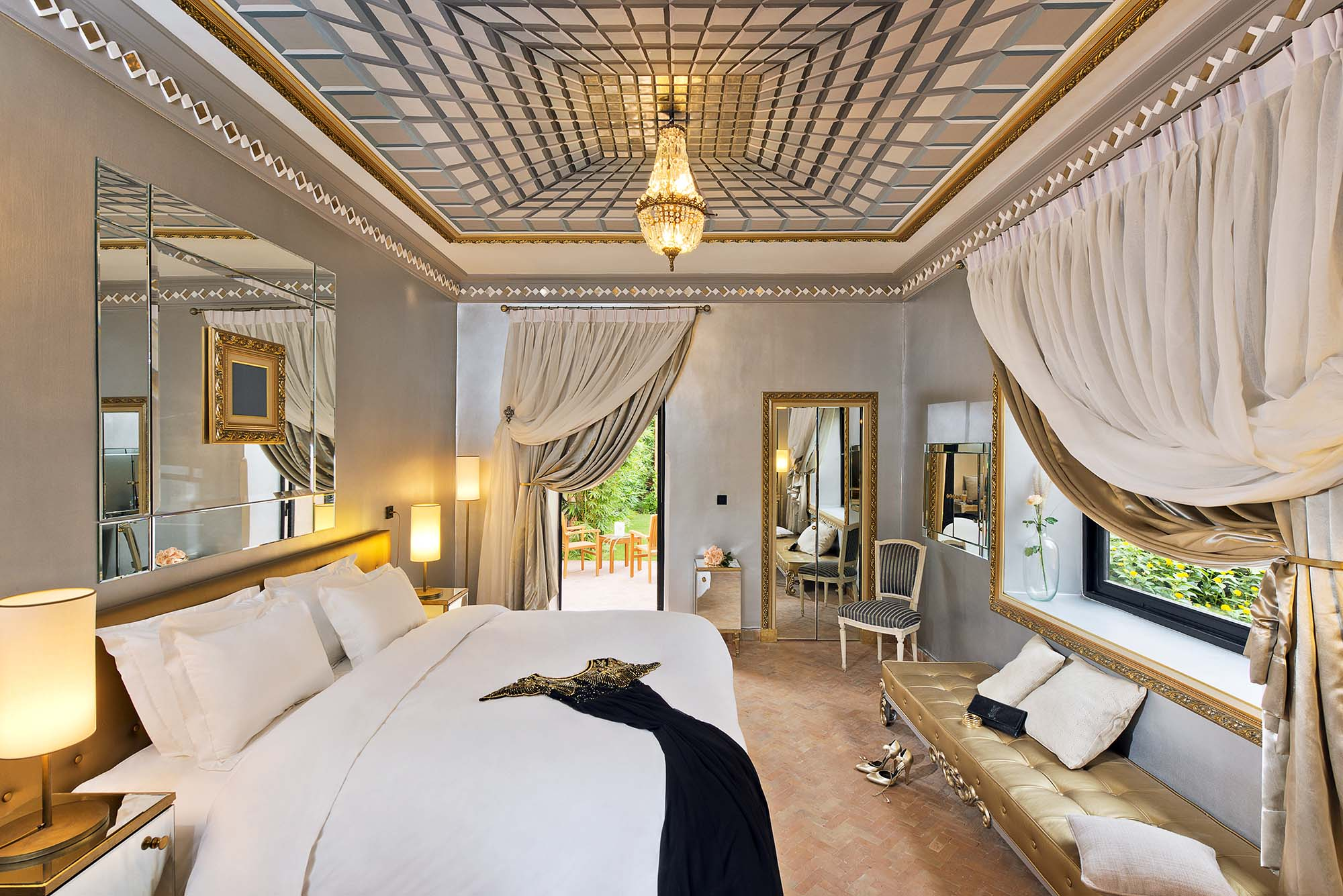 Chambre Deluxe Made in Heaven maison hotes The Source Marrakech