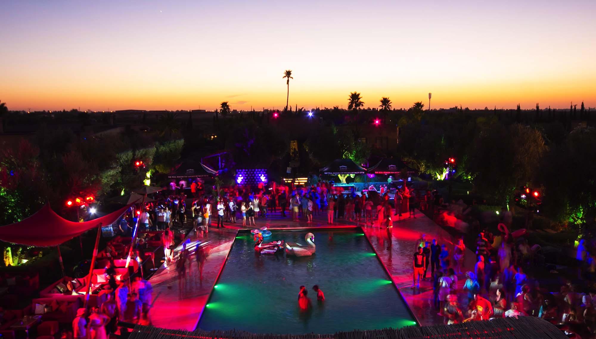 soiree jour de l'an 2018 THE SOURCE Marrakech